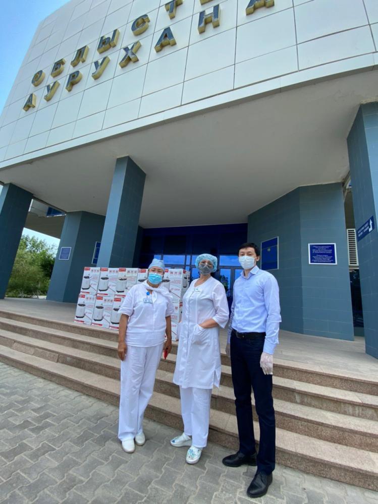 HUMANITARIAN AID TO THE ATYRAU REGIONAL HOSPITAL