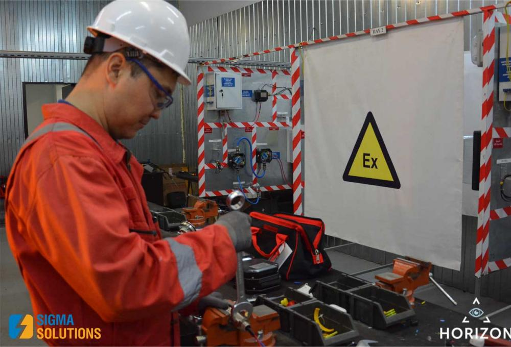SIGMA SOLUTIONS EMPLOYEES COMPLETED COURSES ON ELECTRICAL ENGINEERING AND EXPLOSION-PROOF EQUIPMENT